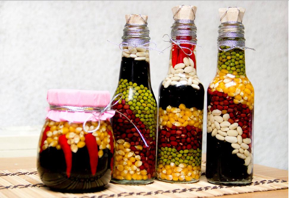 Diy διακόσμηση με μπουκάλια18