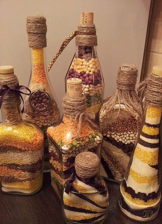 Diy διακόσμηση με μπουκάλια19