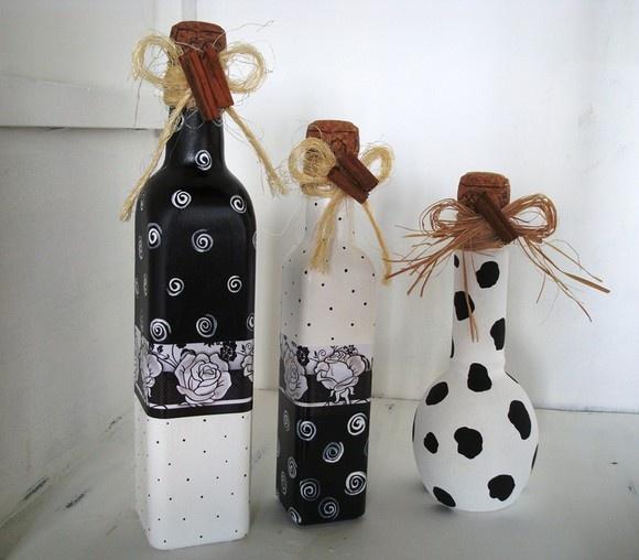 Diy διακόσμηση με μπουκάλια21