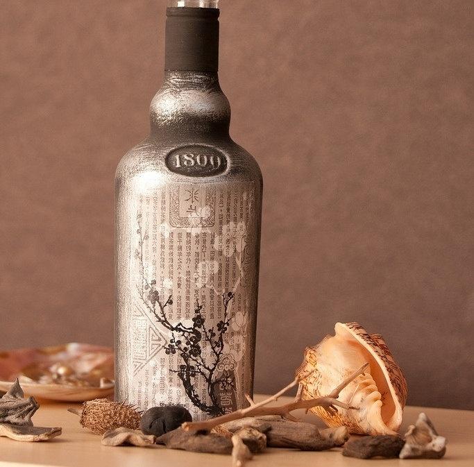 Diy διακόσμηση με μπουκάλια24