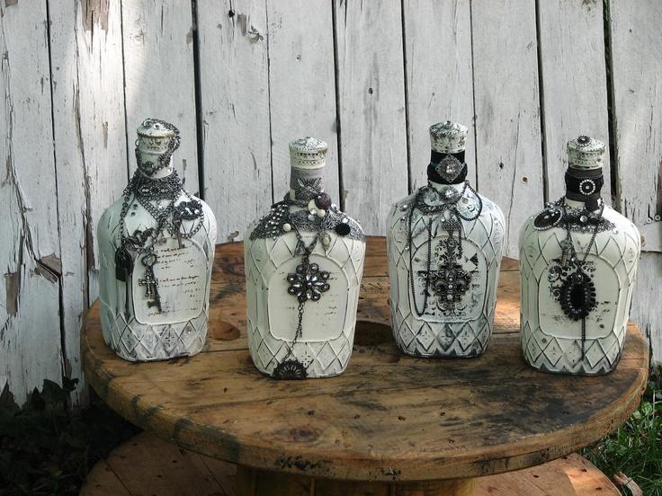 Diy διακόσμηση με μπουκάλια3