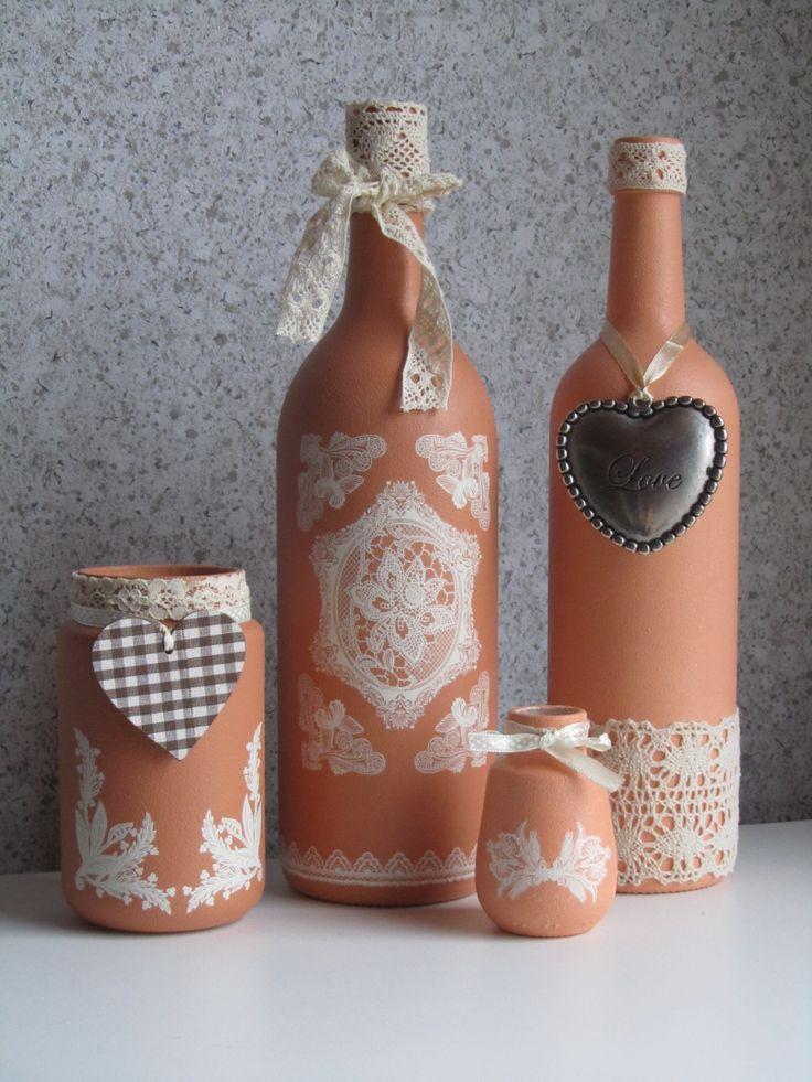 Diy διακόσμηση με μπουκάλια36