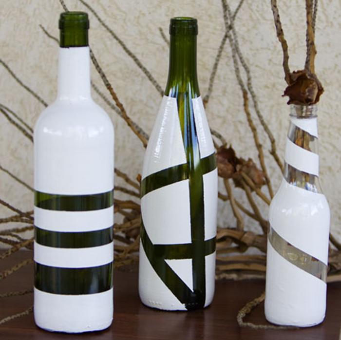 Diy διακόσμηση με μπουκάλια42