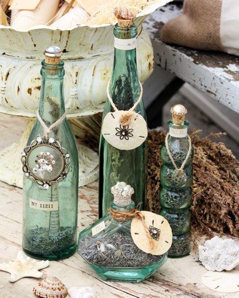 Diy διακόσμηση με μπουκάλια43