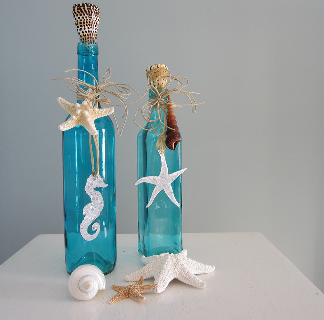Diy διακόσμηση με μπουκάλια5