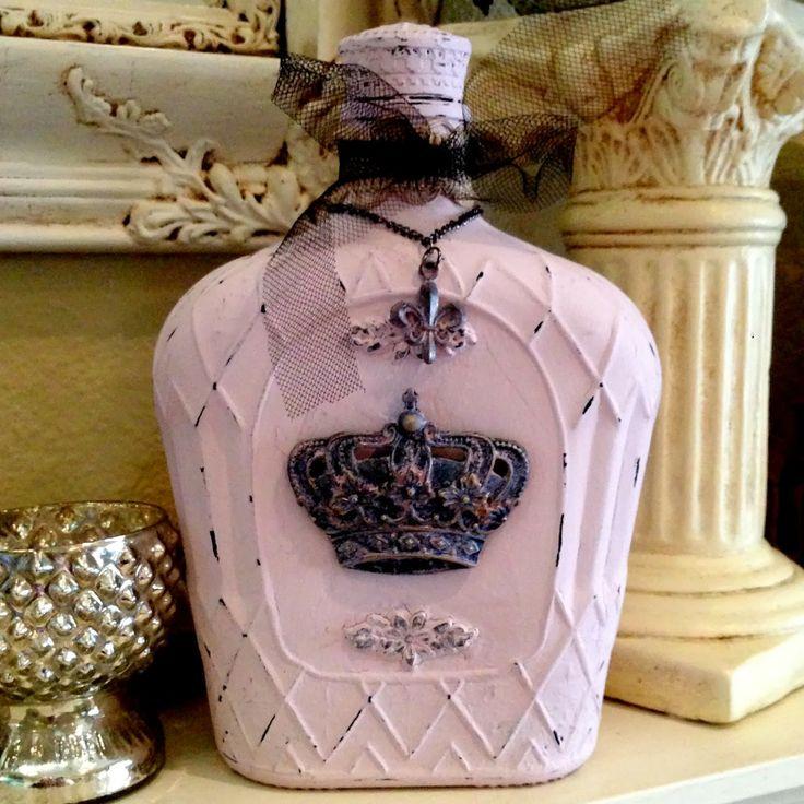 Diy διακόσμηση με μπουκάλια50