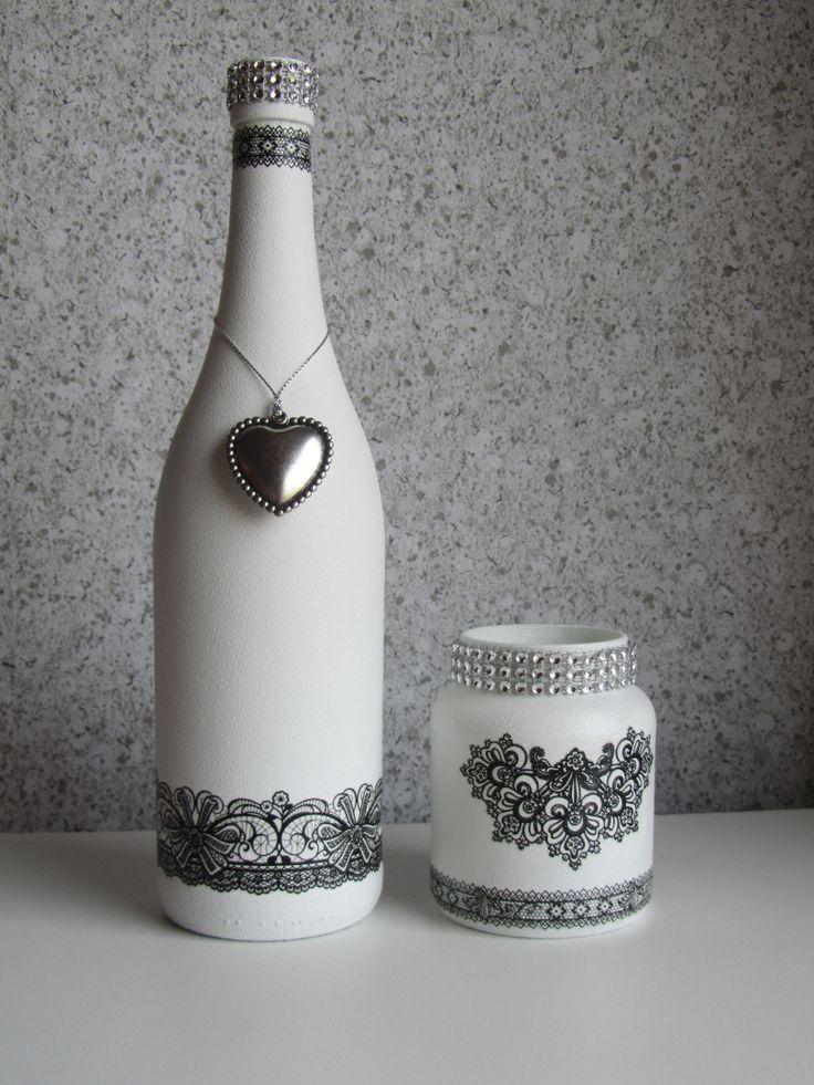 Diy διακόσμηση με μπουκάλια55