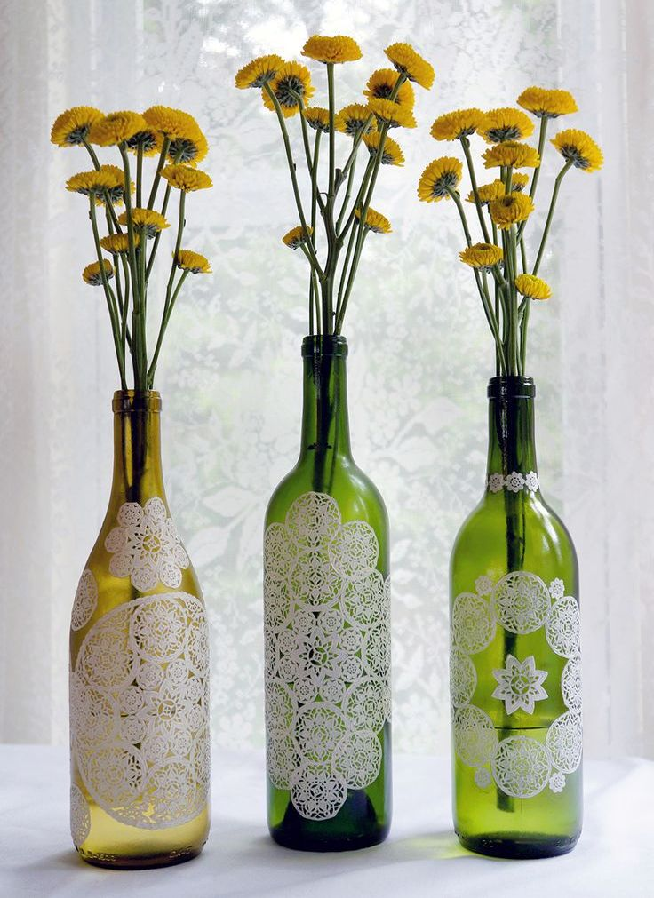 Diy διακόσμηση με μπουκάλια6