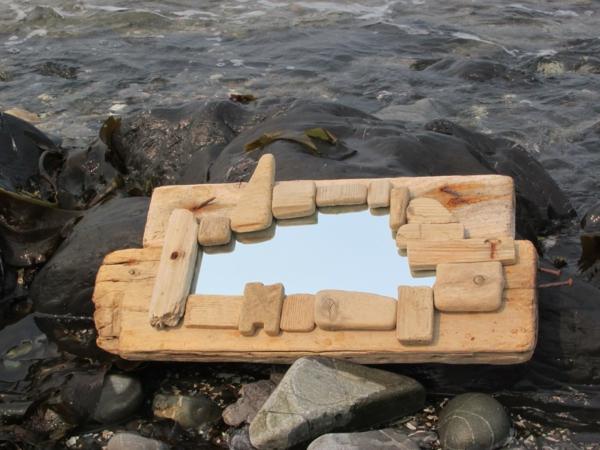 Diy ιδέες καθρέφτη από θαλασσόξυλα (11)