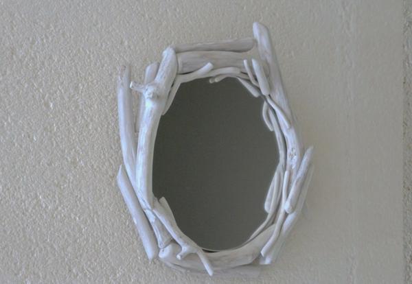 Diy ιδέες καθρέφτη από θαλασσόξυλα (13)