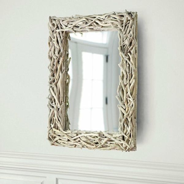 Diy ιδέες καθρέφτη από θαλασσόξυλα (15)