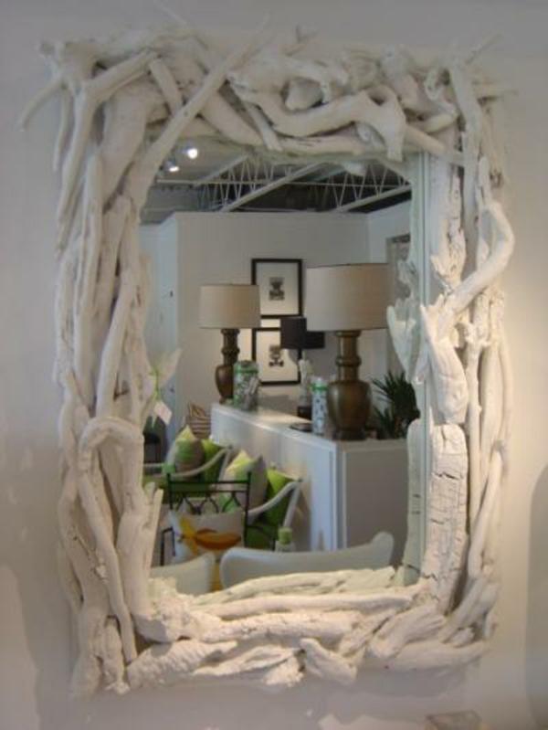 Diy ιδέες καθρέφτη από θαλασσόξυλα (23)