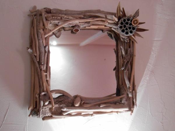 Diy ιδέες καθρέφτη από θαλασσόξυλα (26)