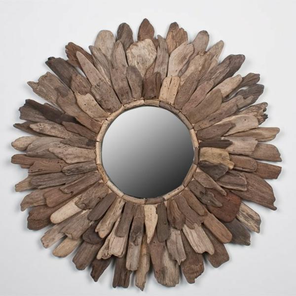 Diy ιδέες καθρέφτη από θαλασσόξυλα (3)