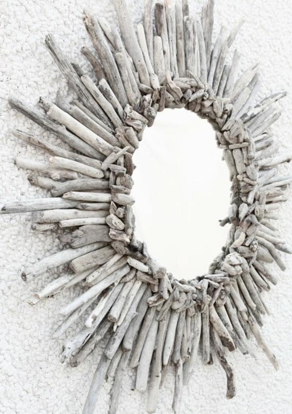 Diy ιδέες καθρέφτη από θαλασσόξυλα (33)