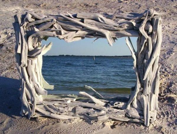 Diy ιδέες καθρέφτη από θαλασσόξυλα (34)