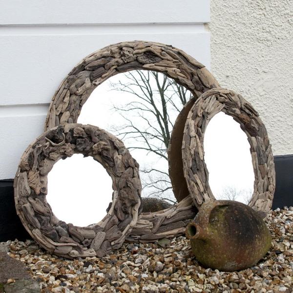 Diy ιδέες καθρέφτη από θαλασσόξυλα (35)