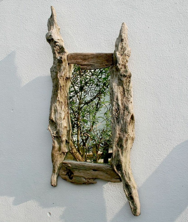 Diy ιδέες καθρέφτη από θαλασσόξυλα (4)