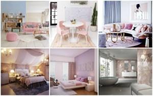 Παστέλ Ιδέες διακόσμησης σπιτιού για την άνοιξη