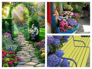 φυτογραφίες για το σχεδιασμό κήπων