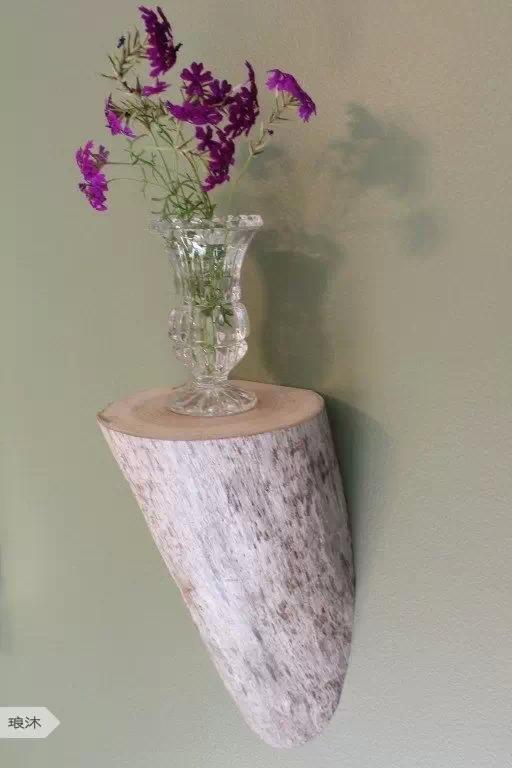 DIY ρουστίκ ιδέες διακόσμησης από θαλασσόξυλα και κούτσουρα15