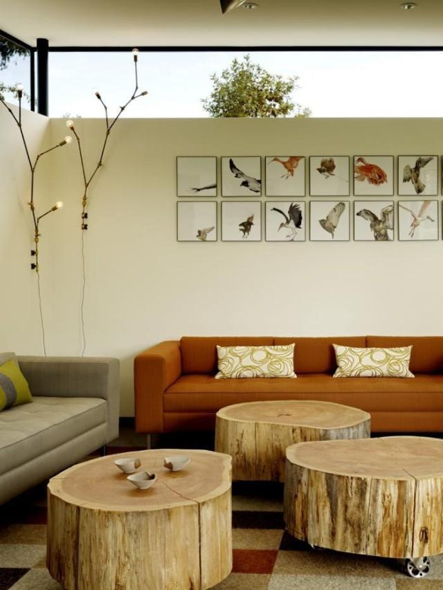 DIY ρουστίκ ιδέες διακόσμησης από θαλασσόξυλα και κούτσουρα28