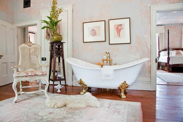 Shabby chic μπάνιο ιδέες1