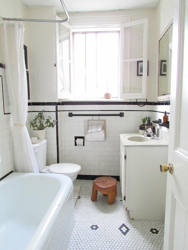 Shabby chic μπάνιο ιδέες11