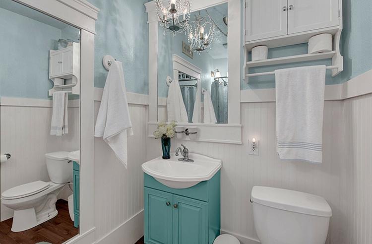 Shabby chic μπάνιο ιδέες15