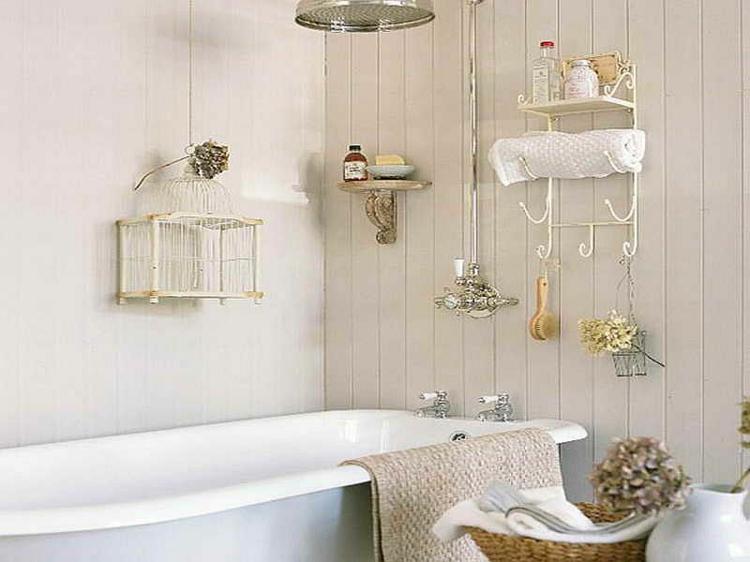 Shabby chic μπάνιο ιδέες17