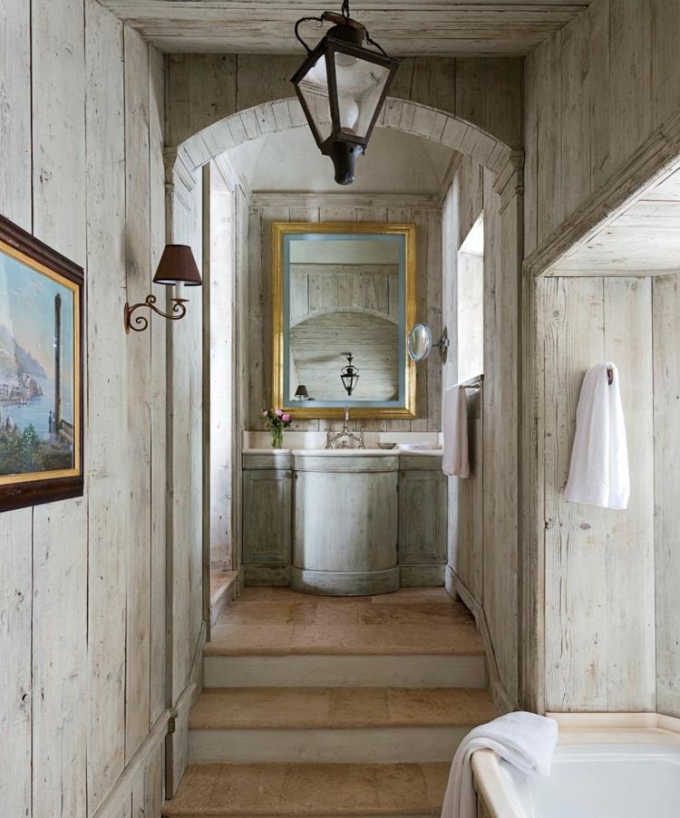 Shabby chic μπάνιο ιδέες21