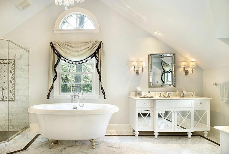 Shabby chic μπάνιο ιδέες27