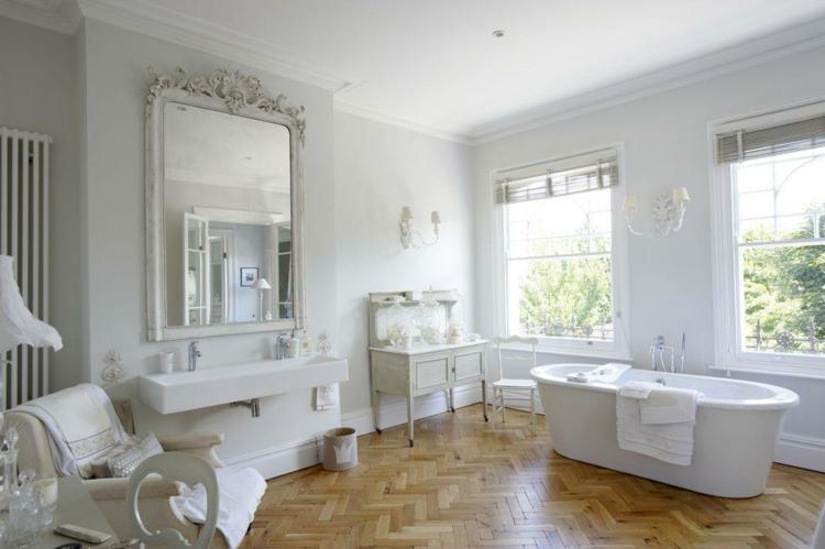 Shabby chic μπάνιο ιδέες34