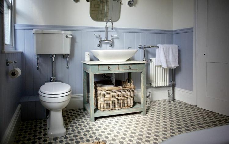 Shabby chic μπάνιο ιδέες36