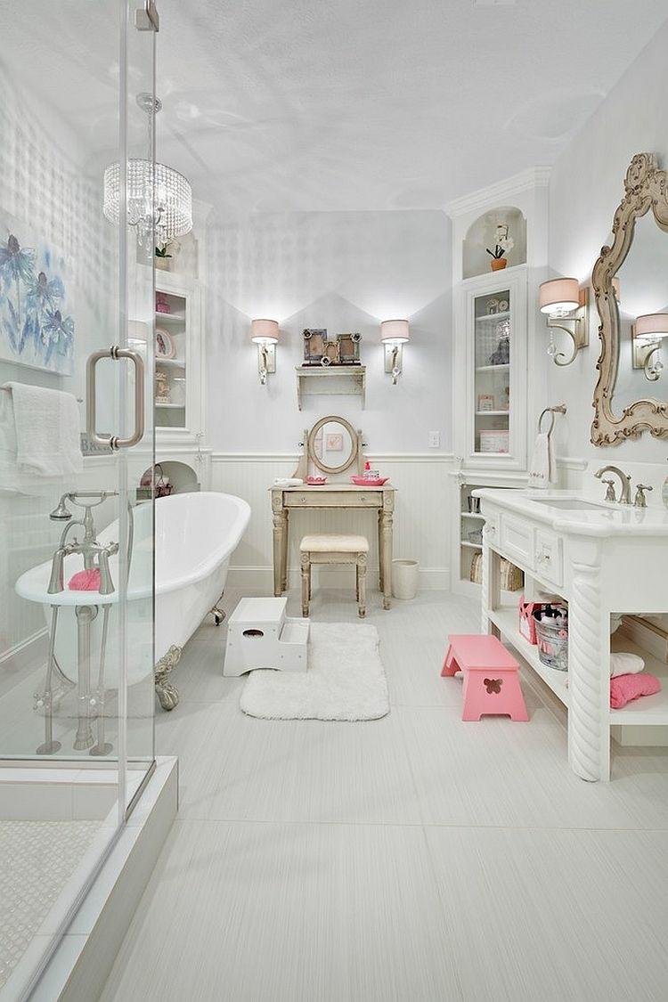 Shabby chic μπάνιο ιδέες39