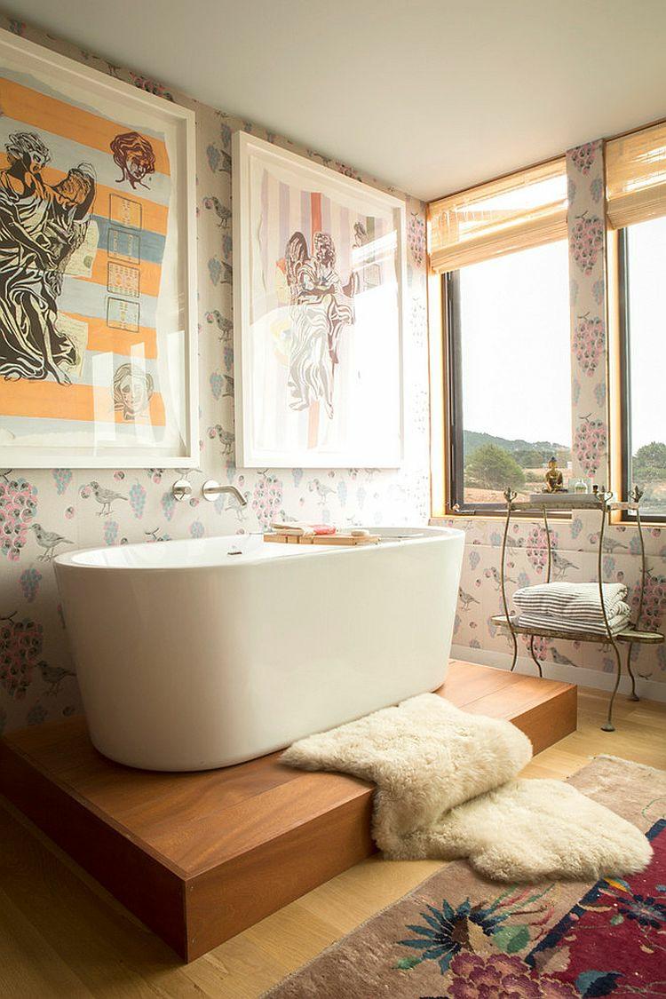 Shabby chic μπάνιο ιδέες43