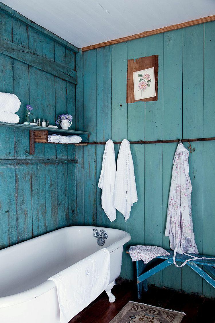 Shabby chic μπάνιο ιδέες44