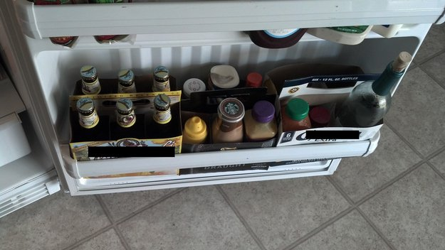 Έξυπνα κολπάκια για το ψυγείο6