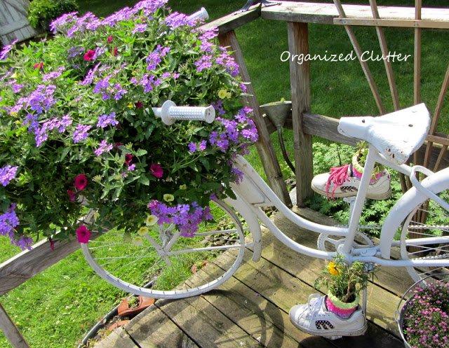 διακόσμηση κήπου με ποδήλατα14