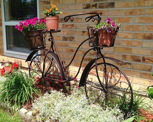 διακόσμηση κήπου με ποδήλατα15