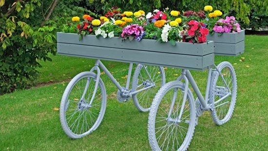 διακόσμηση κήπου με ποδήλατα6