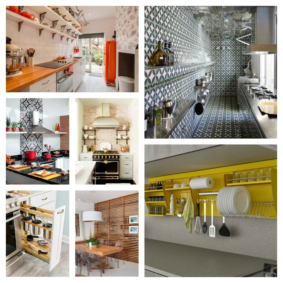 Iδέες σχεδιασμού μικρής κουζίνας
