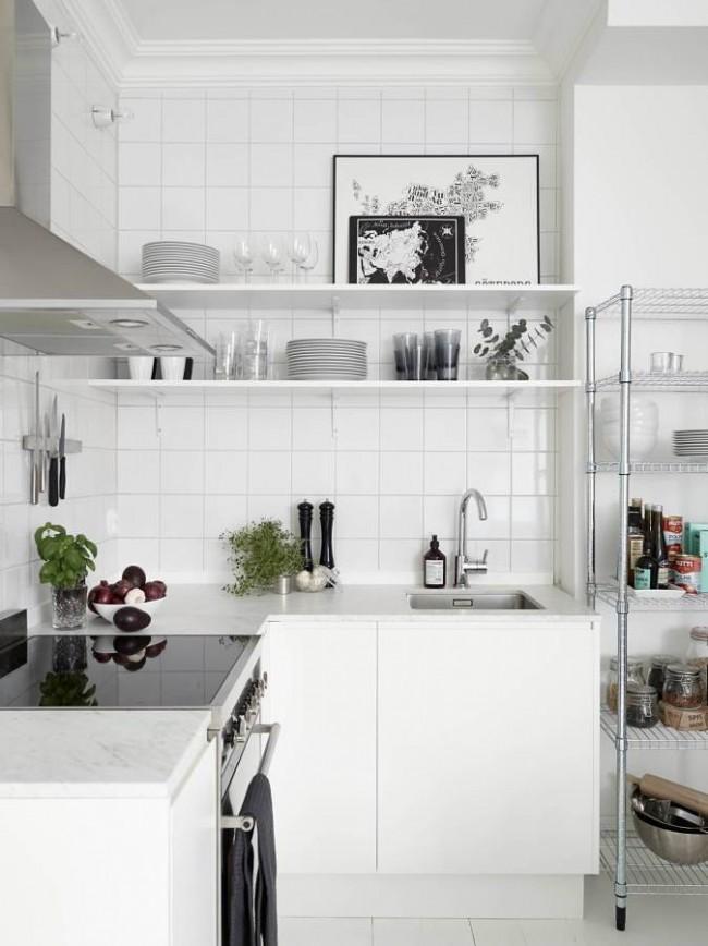 Iδέες σχεδιασμού μικρής κουζίνας19