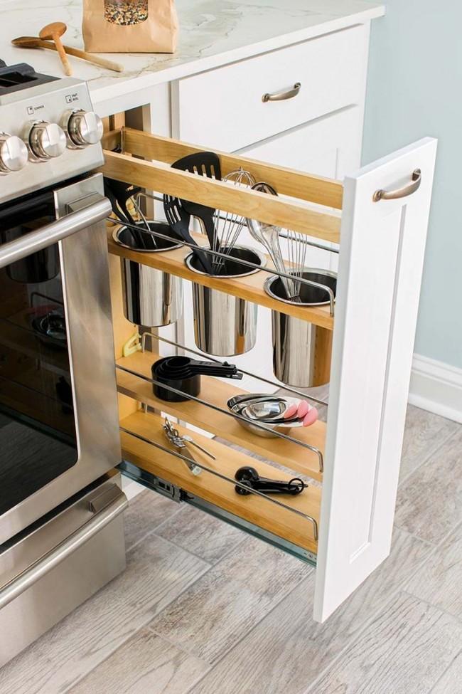 Iδέες σχεδιασμού μικρής κουζίνας24