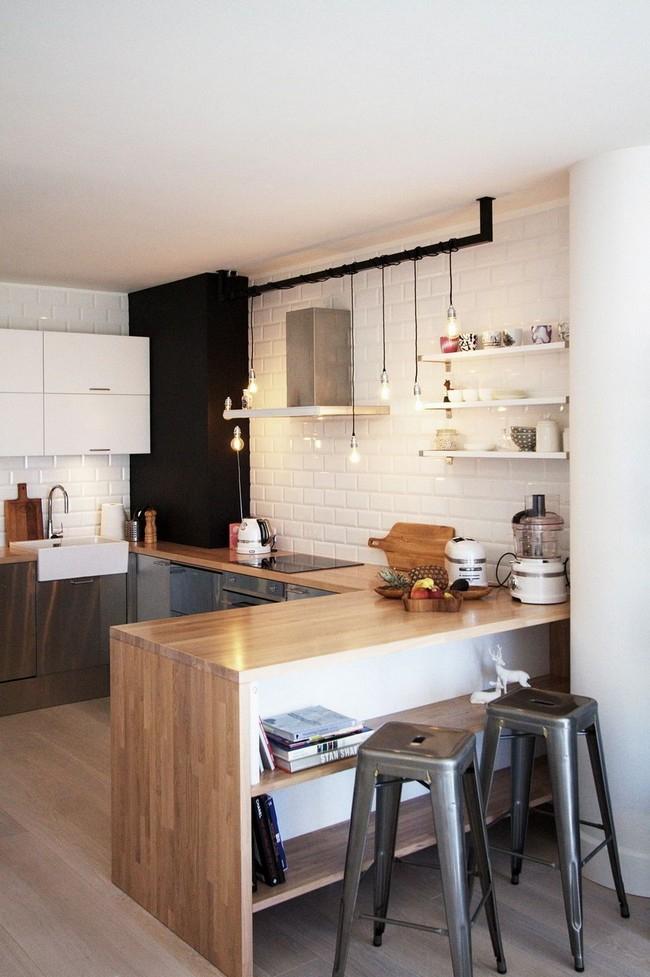 Iδέες σχεδιασμού μικρής κουζίνας33