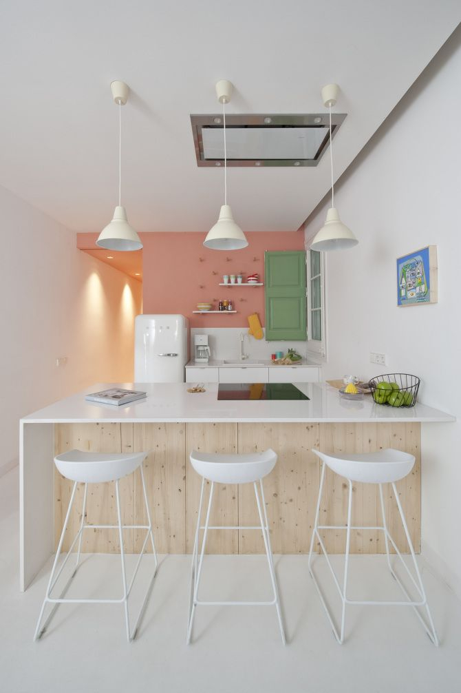 Iδέες σχεδιασμού μικρής κουζίνας38