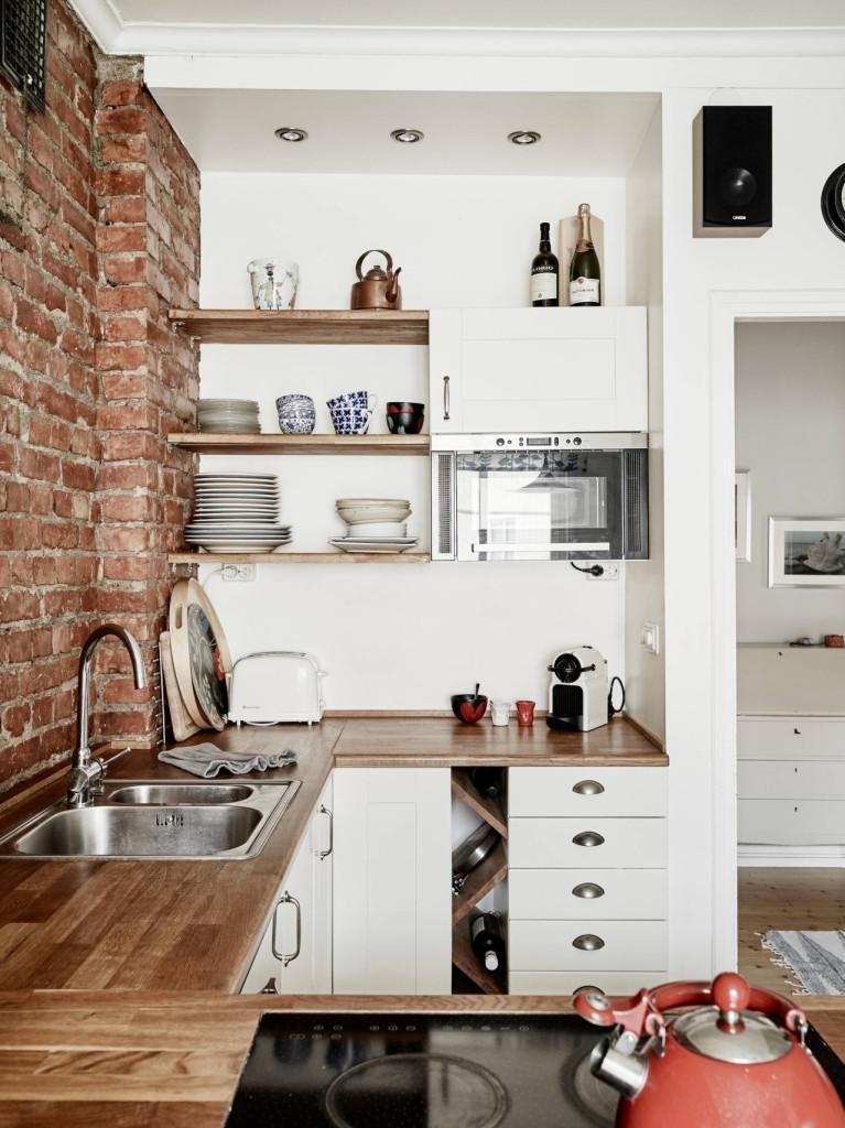 Iδέες σχεδιασμού μικρής κουζίνας39