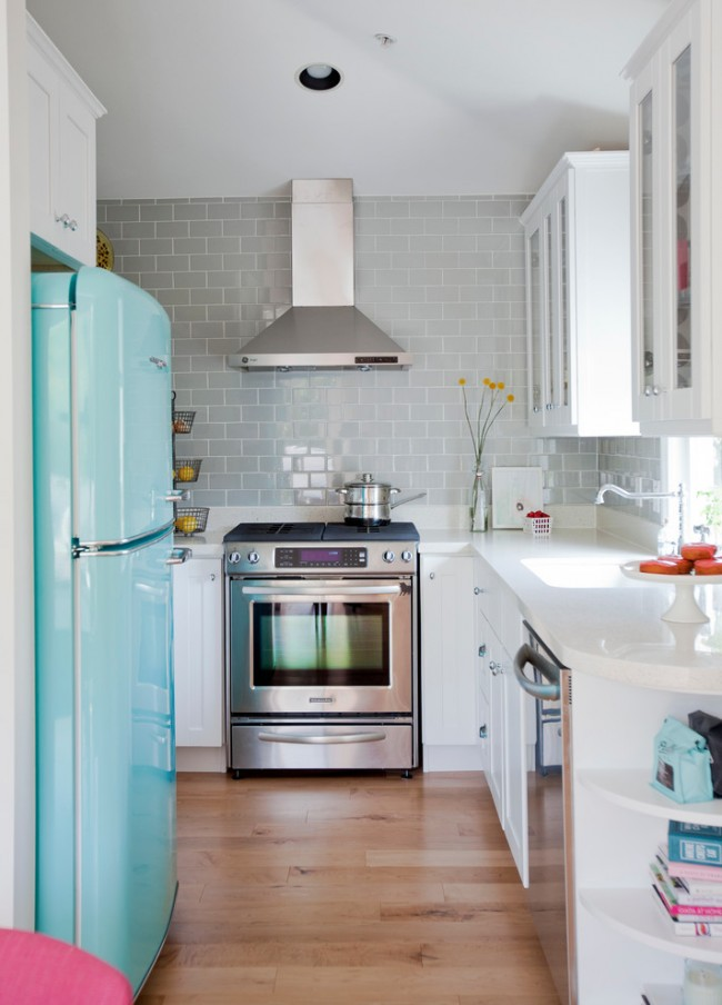Iδέες σχεδιασμού μικρής κουζίνας7