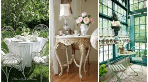 shabby chic διακόσμηση