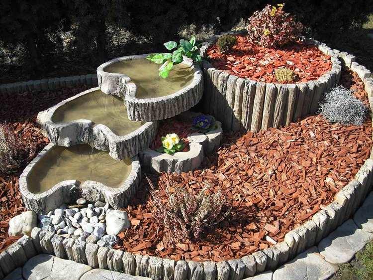 Μπετόν ζαρντινιέρες κήπου16